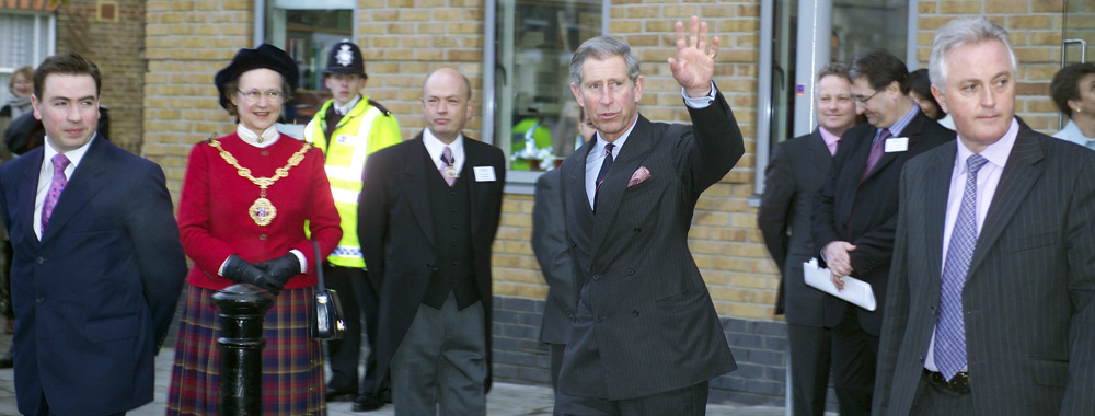 Prince Charles Opens The Avenues