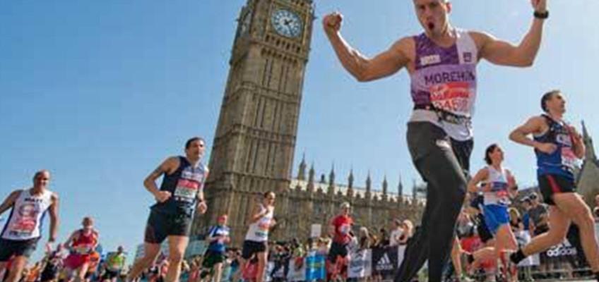 ADAM HILL RUNS THE 2015 LONDON MARATHON FOR THE AVENUES