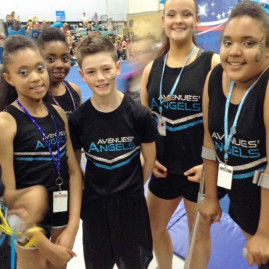 AVENUES ANGELS CHEERLEADING