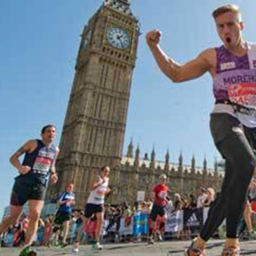 ADAM HILL RUNS THE 2015 LONDON MARATHON FOR THE AVENUES