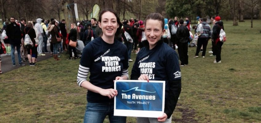2016 LONDON MARATHON RUNNERS RAISE £11,000 FOR AVENUES YOUTH PROJECT