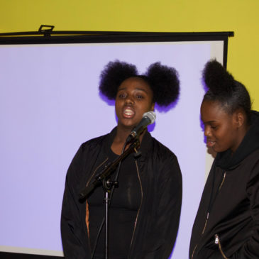 Young People Performing at Black History Month
