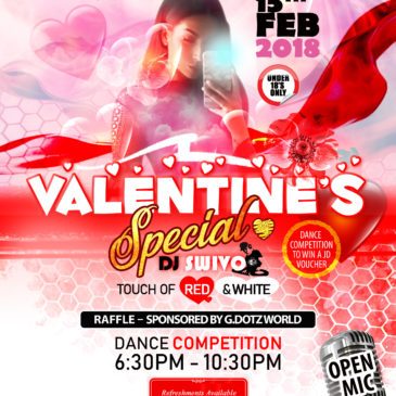 Avenues Valentine's Special – A Party for Under 18's