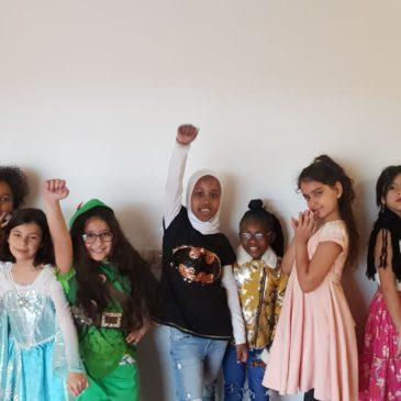 Girls Group Talk Career Goals