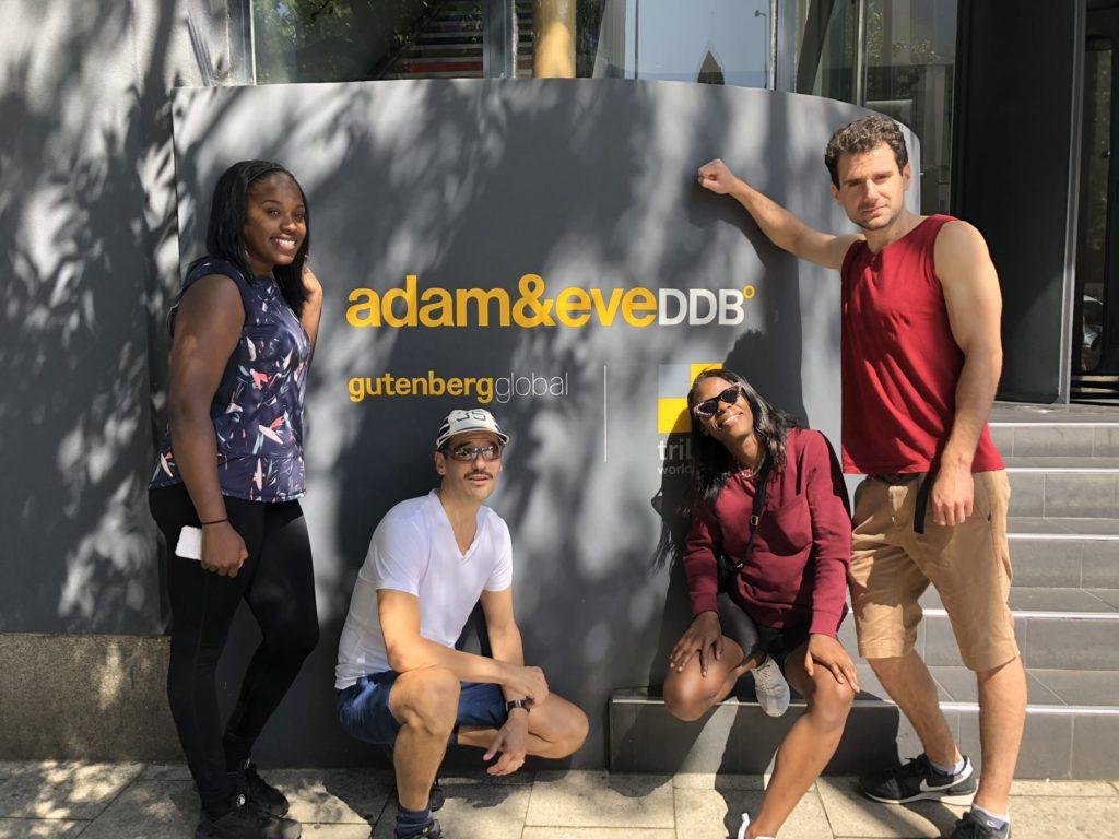 Adam&Eve bike ride Aves staff