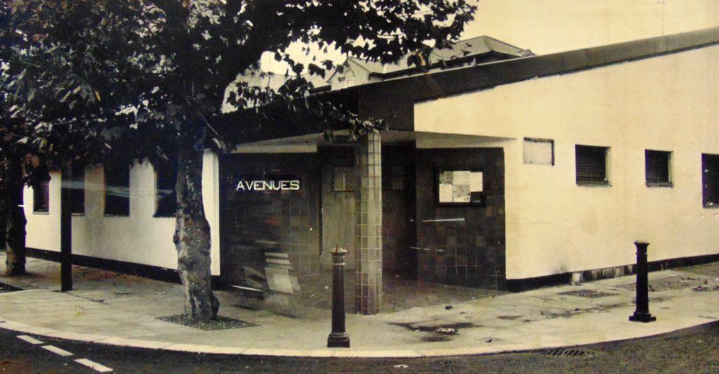 Original Avenues building, 1980s